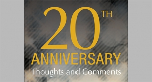 20th  Anniversary Thoughts and Comments