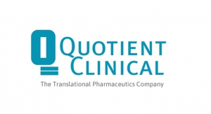 Quotient Clinical Delivers First In-human Program for Corcept Therapeutics