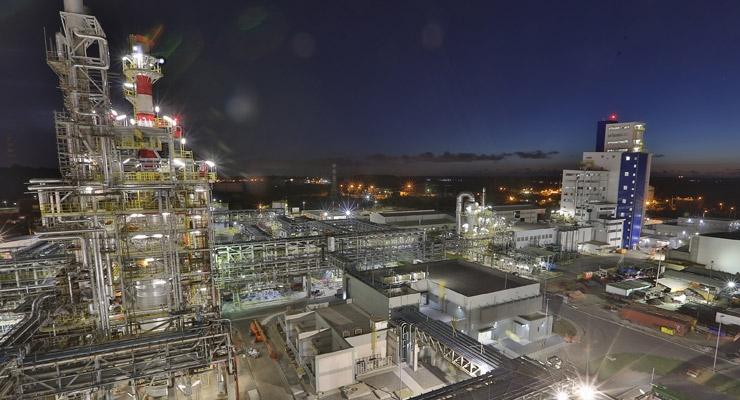 BASF Completes €500 Million Acrylic Acid Complex in Brazil