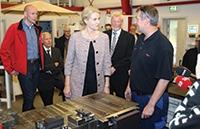 Denmark's prime minister visits Nilpeter