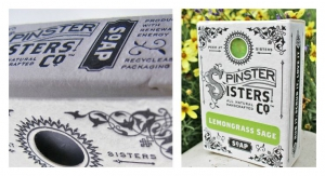 Vintage Design Elements Create Nostalgic Cartons for Spinster Sisters