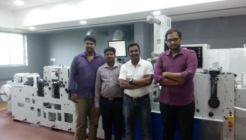India's Tridev Labels invests in Mark Andy press