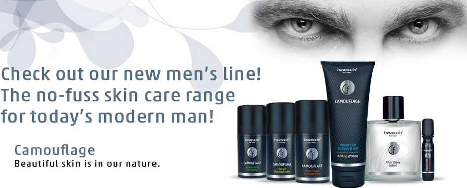 Herbacin Branches Out Into Men's Care