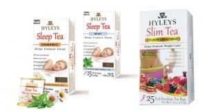 Hyleys Adds Slim and Sleep Teas