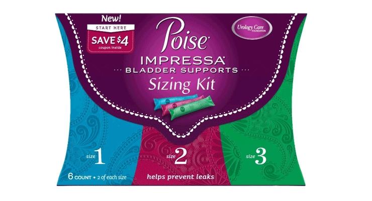 K-C's Poise Brand Introduces Impressa Bladder Supports
