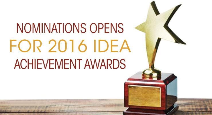IDEA Award Nominations Sought
