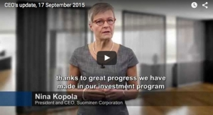 Suominen CEO Discusses Strategy, Investment