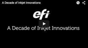 EFI Celebrates 10 Years Since VUTEk Acquisition