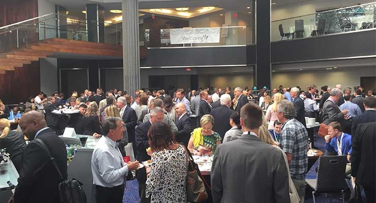 Networking at Contracting & Outsourcing 2015