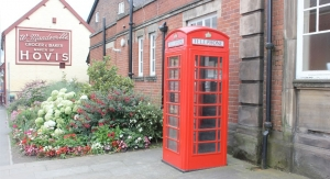 HMG Paints Helps Restore Iconic Telephone Box To Be a Lifesaver