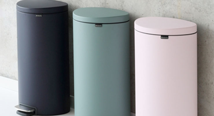 Axalta Coating Systems Provides Alesta Powder Coatings for Brabantia's Mineral Collection