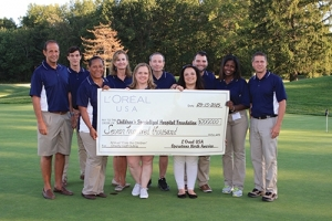 L'Oréal USA's Golf Outing Brings in Record-Level Donation