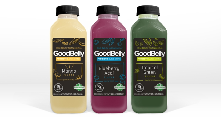 GoodBelly Introduces Grab&Go Probiotic Drinks
