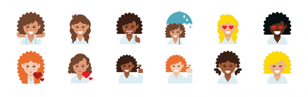 Dove Debuts Curly Girl Emojis