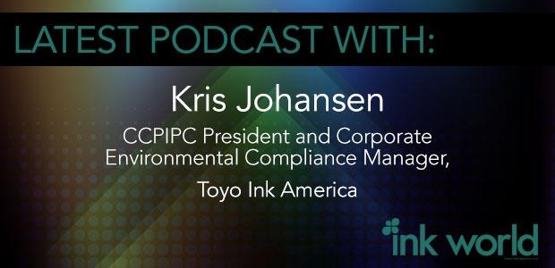 CPIPC President Kris Johansen of Toyo Ink America