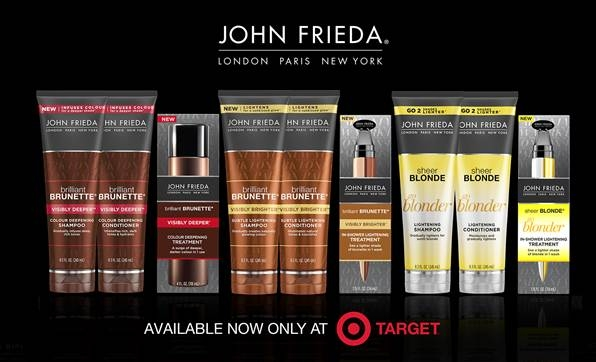 John Frieda Pre-Launches Products Online at Target