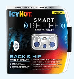 IcyHot Offers TENS Therapy in the OTC Aisle