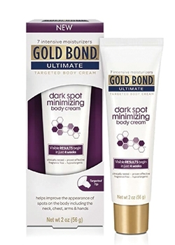Gold Bond Targets Dark Spots on the Body