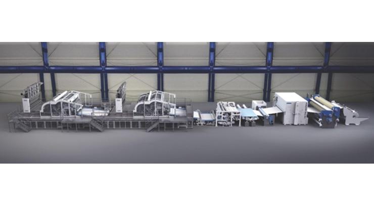 Andritz Develops Energy Saving Spunlace Technology