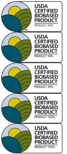 USDA Certified Biobased Purified Cotton Products