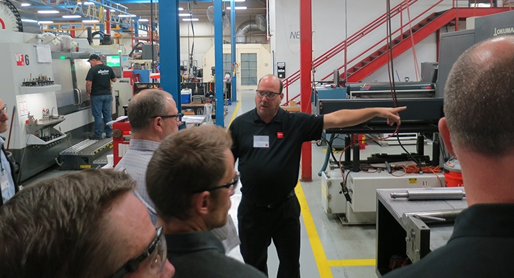 Press demonstrations, plant tour highlight Nilpeter Open House