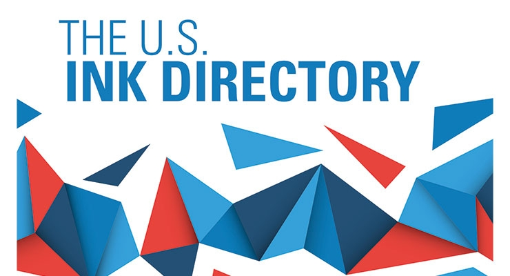 Ink World's 2016 U.S. Ink Directory