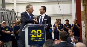Virginia's Governor Visits Arkay Packaging's Roanoke Plant