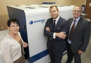 Charapak adds Domino digital inkjet label press