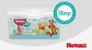 Huggies Wipes Named Best Baby Wipes by The Bump
