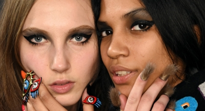 NYFW: Bold Looks by CND at Libertine