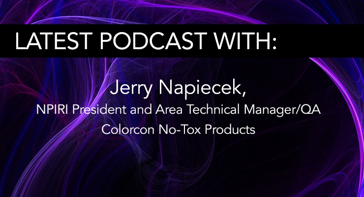 NPIRI President Jerry Napiecek - Colorcon No-Tox Products
