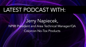 NPIRI President Jerry Napiecek - Colorcon No-Tox Products
