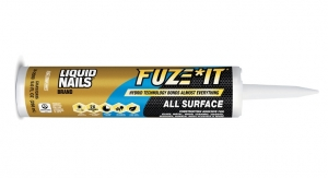 LIQUID NAILS Brand Launches FUZE*IT All Surface Construction Adhesive