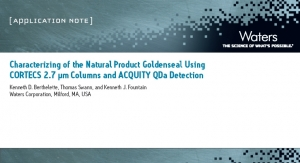 Characterizing of the Natural Product Goldenseal