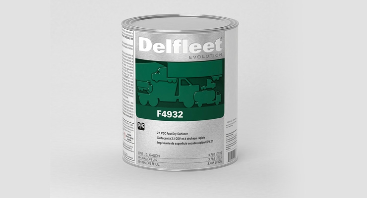 PPG Expands DELFLEET Evolution Paint System with New Surfacer