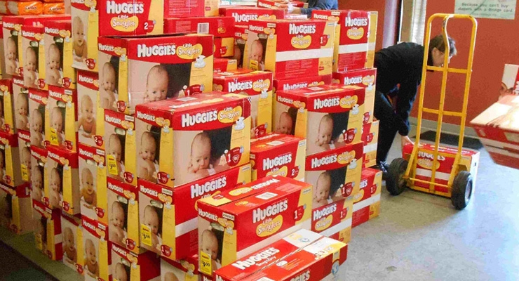 Huggies Donates 22 Million Diapers to National Diaper Bank Network