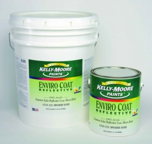 Kelly-Moore launches heat-reflective paint