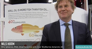Aker BioMarine Boasts Krill Oil's Beneficial Composition