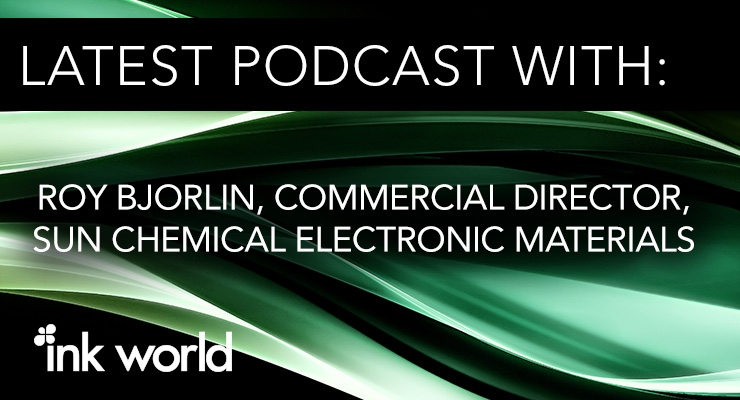 Podcast: Roy Bjorlin of Sun Chemical
