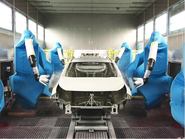 KIA Zilina adopts Dürr's atomizer technology