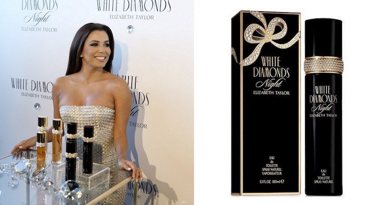 Elizabeth Taylor's Fragrance Franchise Celebrates 25 Years with Eva Longoria