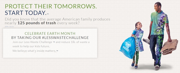 Tom's of Maine, TeraCycle #LessWasteChallenge Pledge