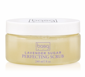 Exfoliate with Basq's Lavender Sugar Scrub