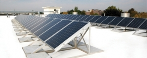 White Roof Coatings Boost Solar Power
