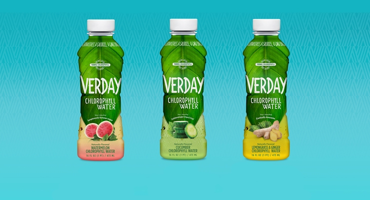 Verday Chlorophyll Water is available in Watermelon, Cucumber and Ginger Lemongrass flavors.