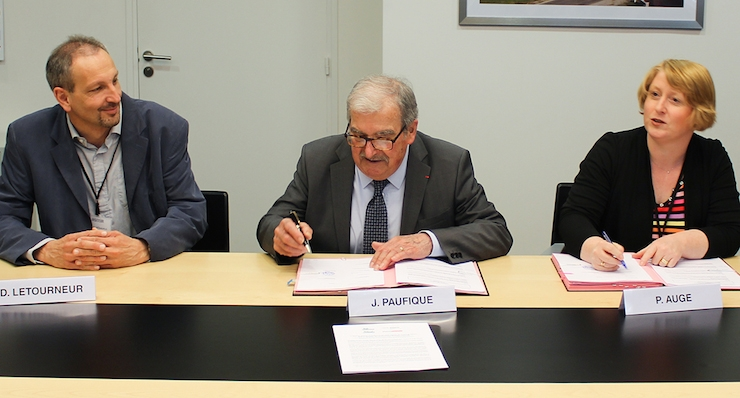 SILTISS and Inserm Sign Accord