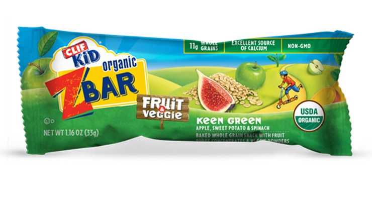 CLIF Kid Unveils Zbar Fruit + Veggie Bars