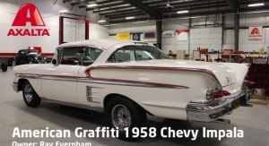 "Axalta Partners With Ray Evernham to Preserve Iconic ""American Graffiti"" 1958 Chevrolet Impala"