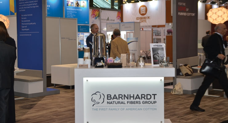 Barnhardt Shows Off Cotton Blends