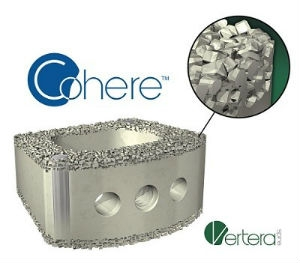 Vertera Spine Announces First Implantations Of Porous PEEK